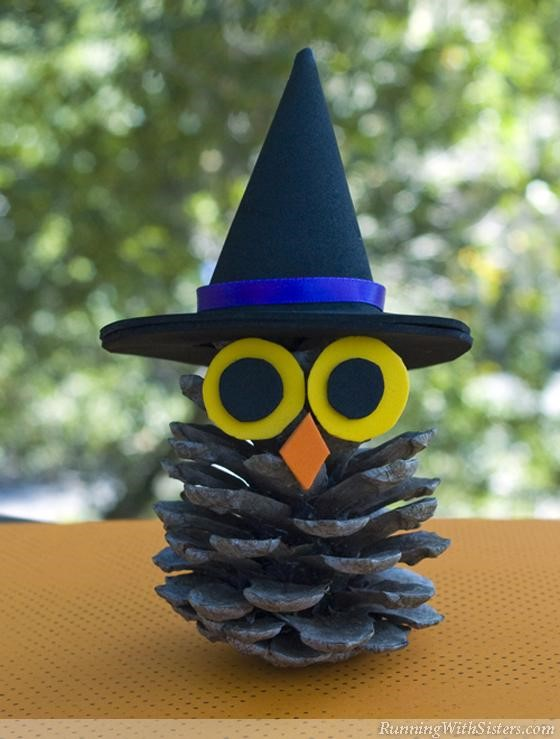 Witchy-Pinecone-Owl