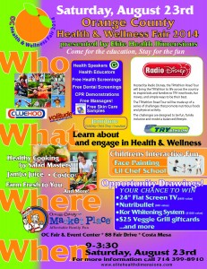 Health and Wellness 2014 Flyer to Use