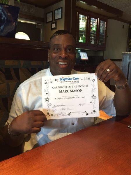 Marc Mason Caregiver of the Month May small