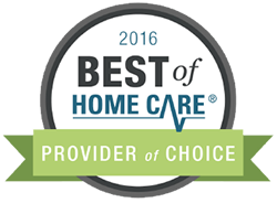Best in home care award