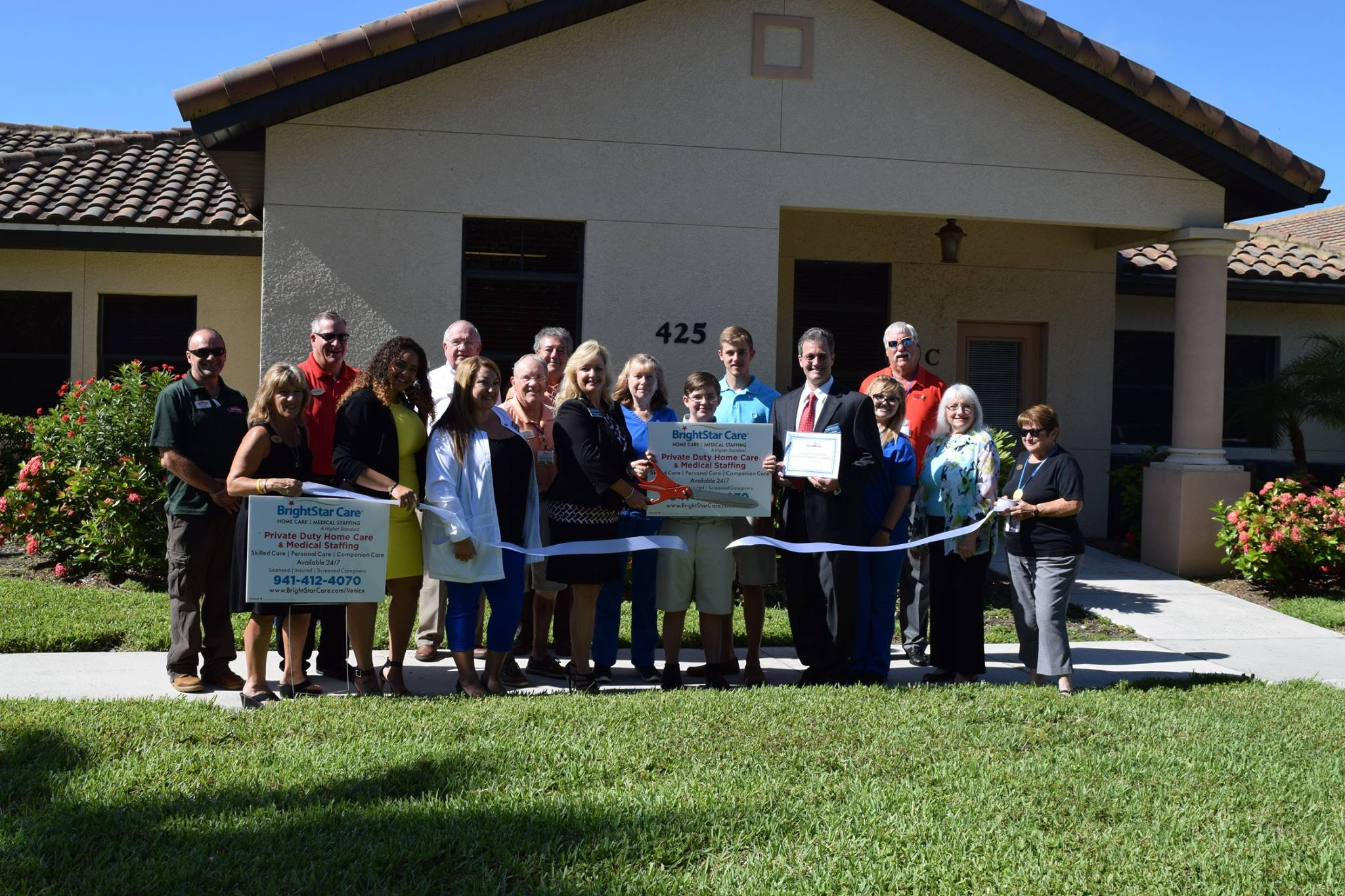 Venice Area Chamber Ribbon Cutting