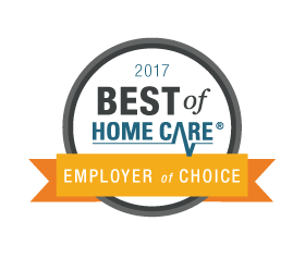 Best of Home Care Employer of Choice Award Winner.