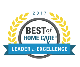 Best of Home Care Leader in Excellence 2017 award winner.