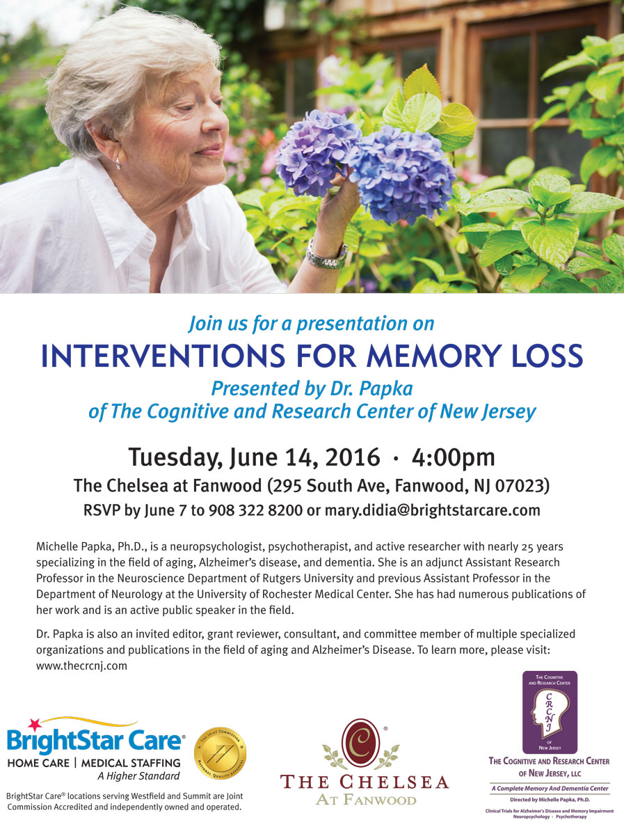 Intervention-for-Memory-Loss_Event_Flyer